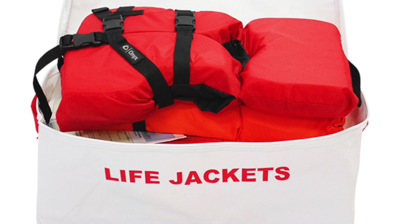 Life Vest Storage Bags (Holds 4)