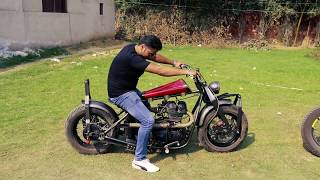 Royal Enfield KAMANI top custom bike from TNT Motorcycle with King Indian