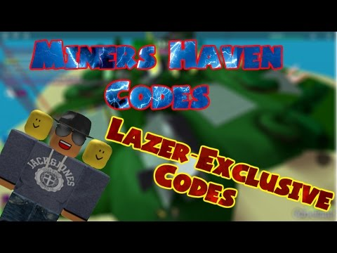 Miners Haven ALL CODES!  (March 2017 WORKING) (Check DESC)