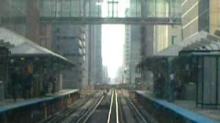 Adams駅からWashington駅までの前面展望です。