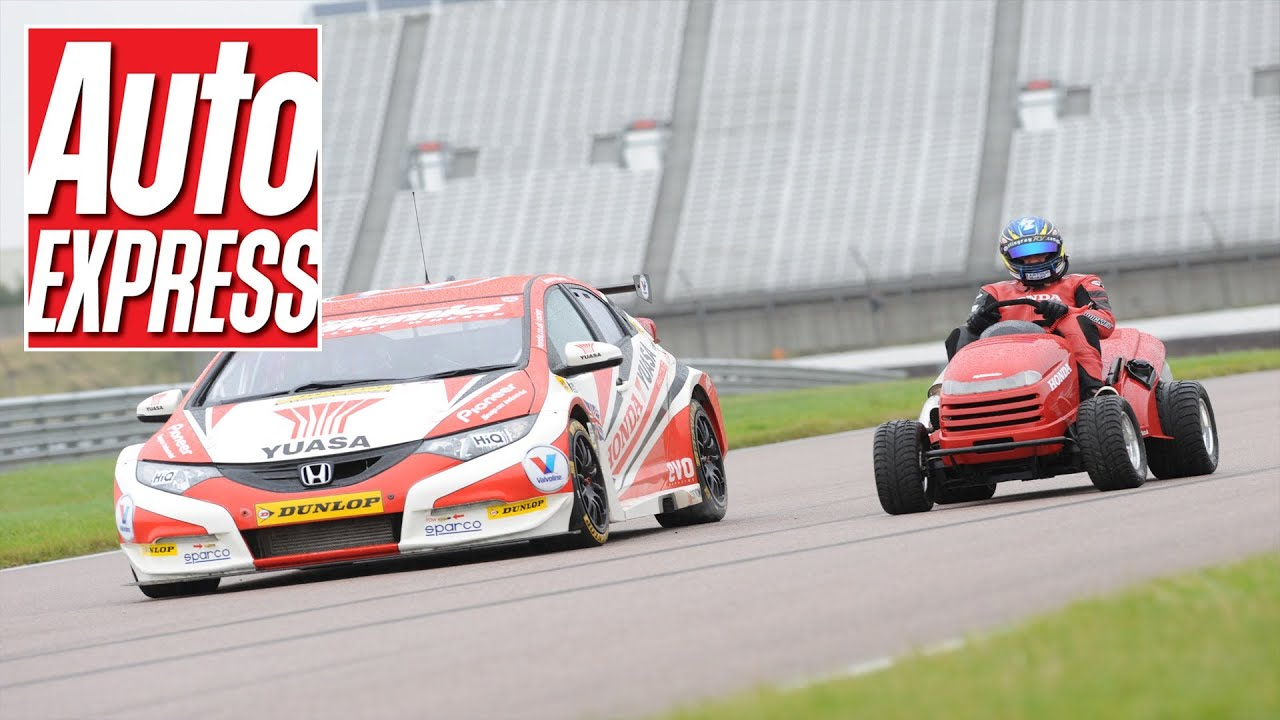 Honda Mean Mower Vs BTCC Civic