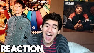 Louis Tomlinson - We Made It & Don't Let It Break Your Heart [REACTION]