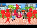 - Scary Teacher 3d vs Subway surfers funny animation part 3 : Ice Scream, Neighbor, Crowd City