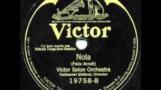 "Victor Salon Orchestra - ""Glow-Worm—Idyl"" & ""Nola"""