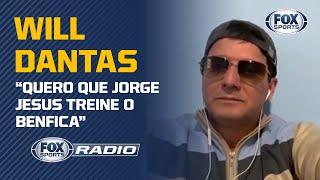 """""""quero Que Jorge Jesus Treine O Benfica"""": Will Dantas Participa Do Fox Sports Rádio"""