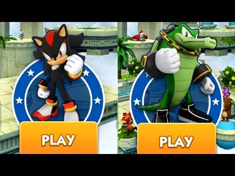 Sonic Dash - SHADOW VS VECTOR
