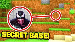 Minecraft : We Found VENOMS SECRET BASE! (Ps3/Xbox360/PS4/XboxOne/PE/MCPE)