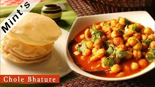 Chole Bhature Recipe-Chola Bhatura Recipe in Hindi-Indian Cuisine-Vegan Indian Recipes-Ep-96