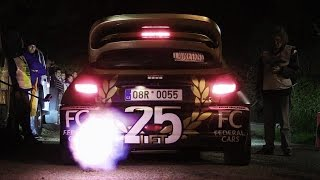 Peugeot 206 WRC Revving with Huge Flames, Launch Controls & Anti-Lag