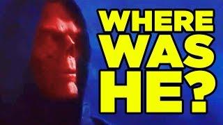 INFINITY WAR - Red Skull Scene Explained