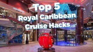 5 Royal Caribbean cruise hacks!