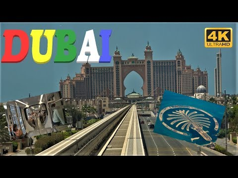 Dubai in 4K UHD – Trip to Palm Jumeirah.