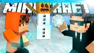 СНЕЖНАЯ ВОЙНА! Minecraft SnowWars [Mini-Game]