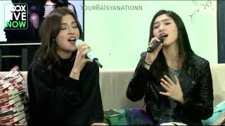 Raisa & Isyana - Anganku Anganmu at JOOX Live Now