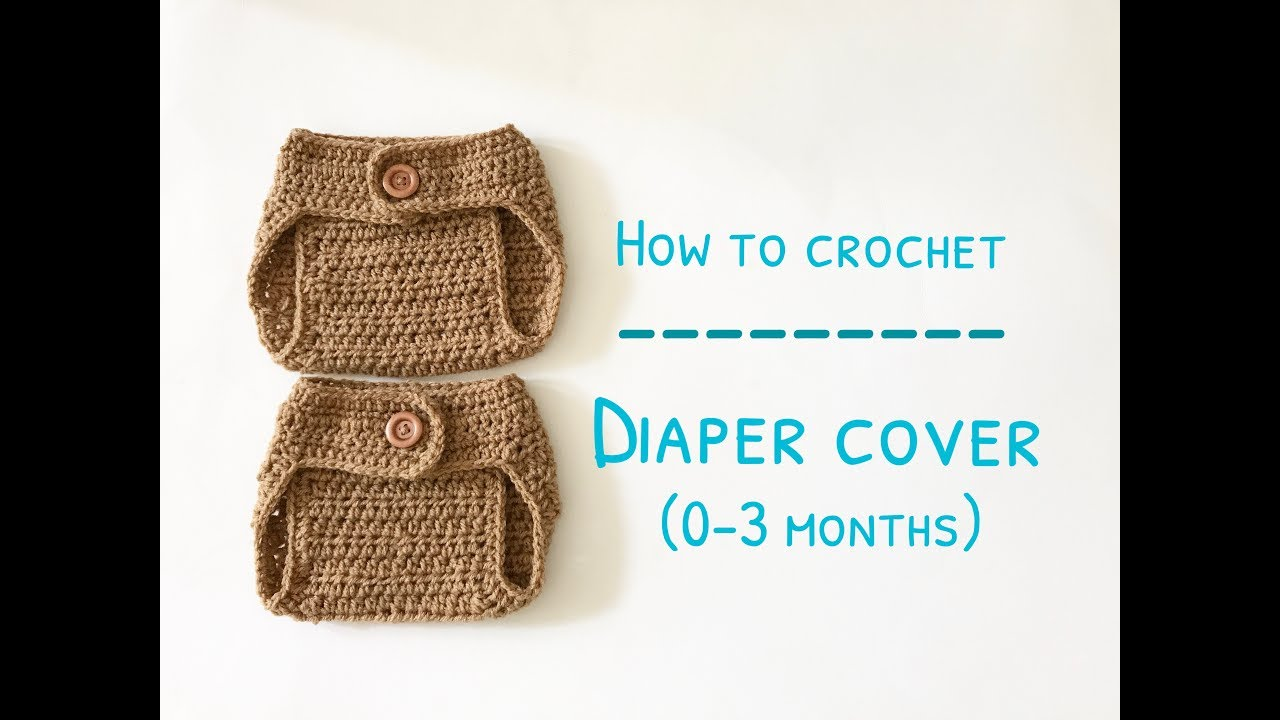 Easy] Crochet Diaper Cover - Free Pattern | 720x1280