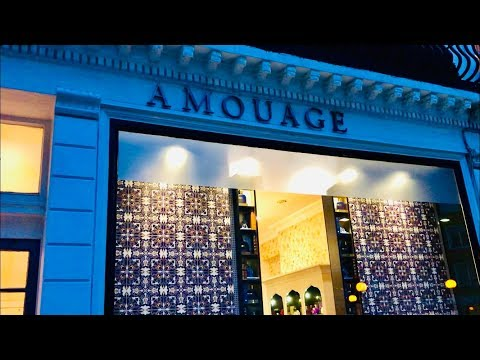 Tour Of Amouage Fragrance Store In London