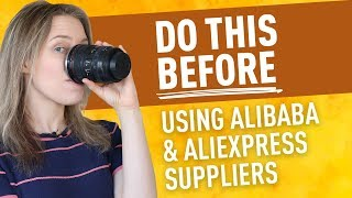 5 Things to Do BEFORE Working With Chinese Dropshippers & Suppliers (Aliexpress & Alibaba Tips)