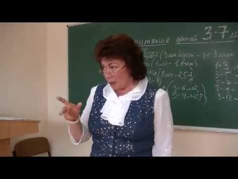 Воспитание детей 3-7 лет. Психолог Наталья Кучеренко. Лекция № 20