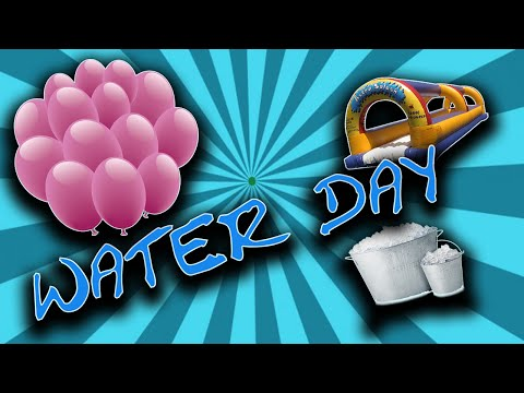 Water Day! Water Game Ideas, and Activities!