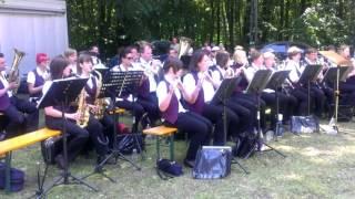 Jugendblasorchester Lucka - Saragossa Band Medley