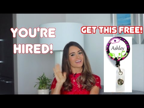 Ace The NURSE INTERVIEW! Plus Free Name Badge Reel For ALL!