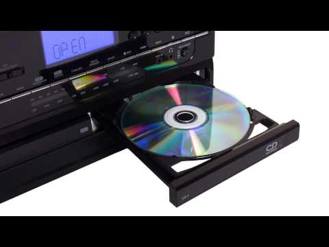 Jensen JTA-980 Stereo Turntable Music System