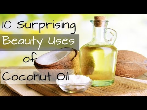 10 Surprising Beauty Uses of Coconut Oil- For Hair, Face, Skin & more