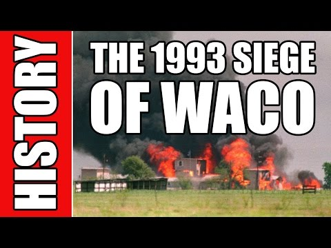 The Siege of Waco Texas (History In One Minute)