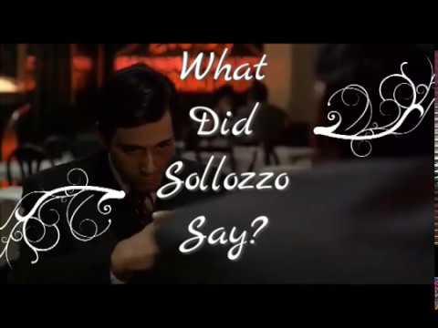 The Godfather - Italian Restaurant Scene Subtitled & Translated