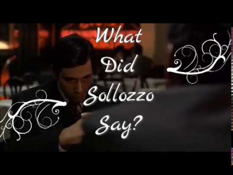 The Godfather - Italian Restaurant Scene Subtitled & Translated