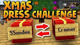 SKYFACTORY CHRISTMAS DRESS CHALLENGE!! W/ SSundee