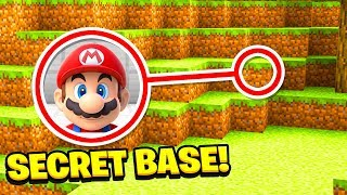 Minecraft : We FOUND SUPER MARIO'S SECRET BASE! (Ps3/Xbox360/PS4/XboxOne/PE/MCPE)