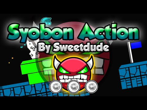 CAT MARIO! Geometry Dash [2.0] (Demon) - Syobon Action by Sweetdude - GuitarHeroStyles