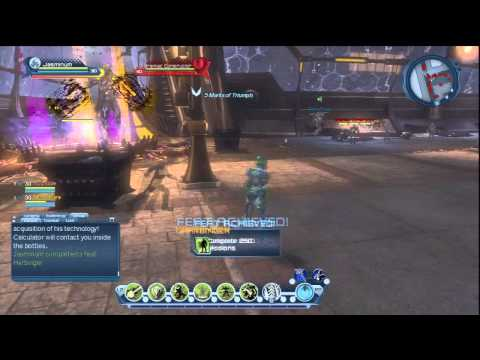 DCUO : South Gotham Daily Quest : Taking Back The Streets : Nature DPS