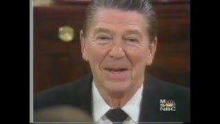 1981 A Day with President Reagan NBC News  White Paper Special