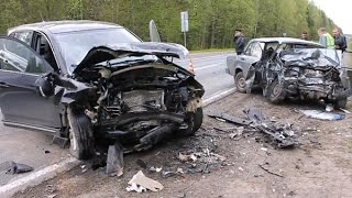 Fatal Car Accidents  in Russia 2015 (winter - spring 2015)