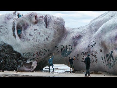 Love, Death & Robots season 2, episode 8 The Drowned Giant adaptaciones de j.g. ballard