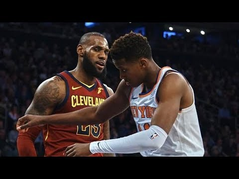 LeBron James Fights & Trash Talking (Savage Moments)