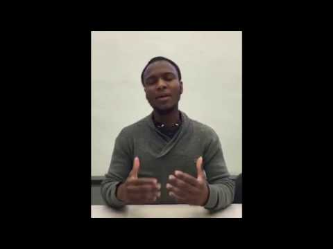 Ousmane Ba,  Global Youth Activist. EDD 2017