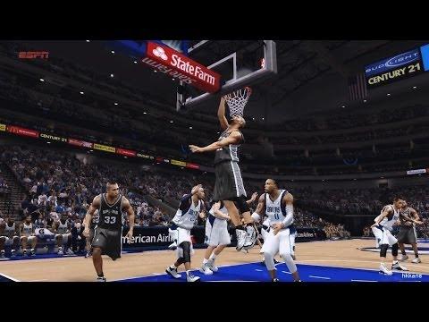 NBA San Antonio Spurs VS Dallas Mavericks 2014-04-10