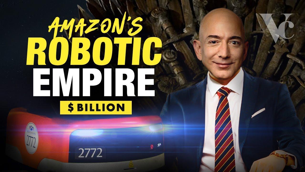 Amazon's Robotic Empire: Jeff Bezos' Smart Warehouses