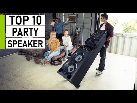 Top 10 Loudest Party Speakers You Should Buy
