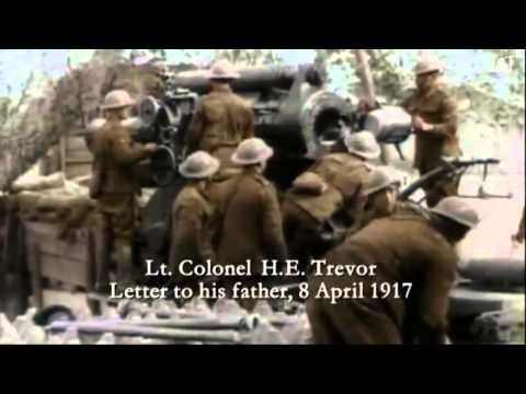 World War I In Color & HD Episode 2  Slaughter In The Trenches