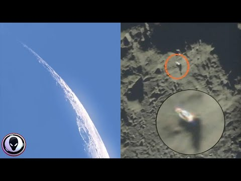 Multiple Giant Objects Pass The Moon?