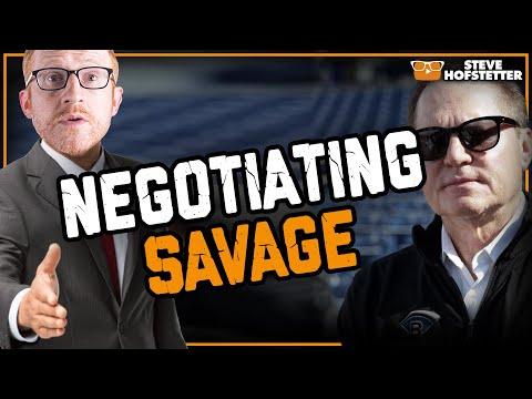 Comedian out negotiates sports agent Scott Boras