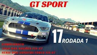 GT Sport - Campeonato Taça das Nações FIA GT - Série dos Construtores FIA GT 17 rodada 1