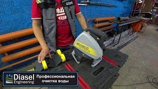 Обзор электрического трубореза для больших диаметров Exact