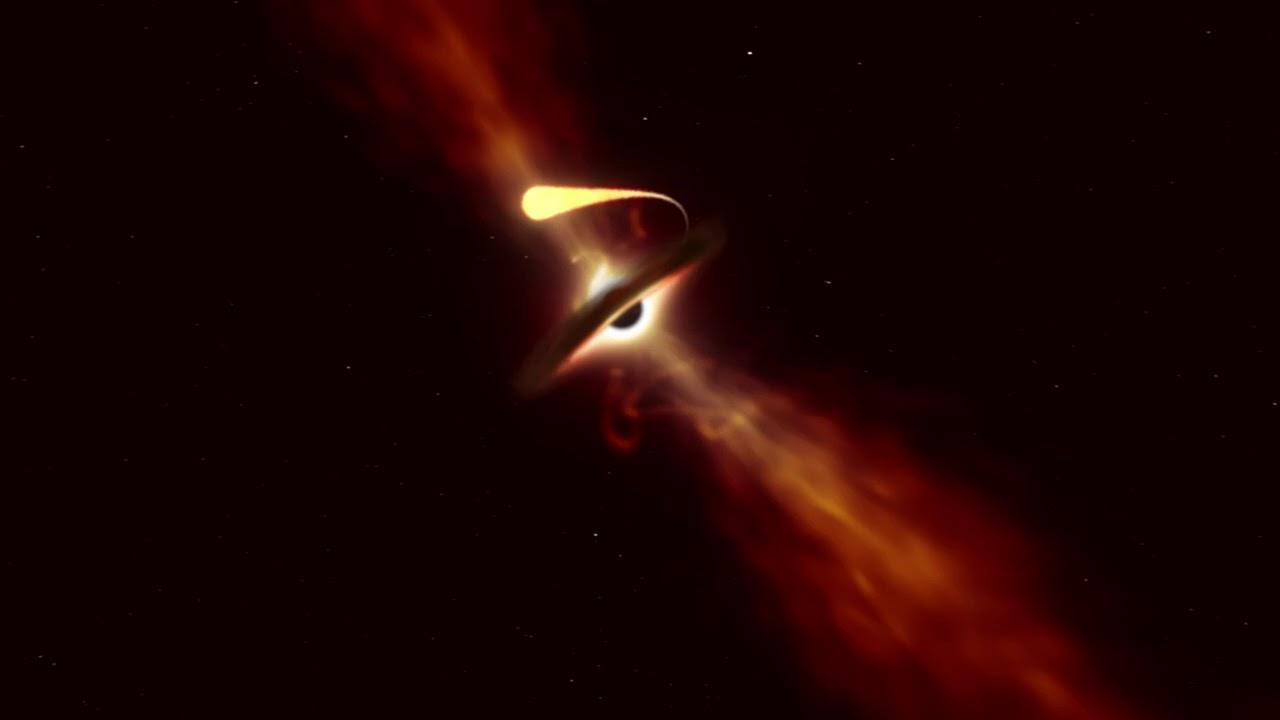 شاهد كيف التهم ثقب أسود نجما كاملا في لقطة نادرة الحدوث
