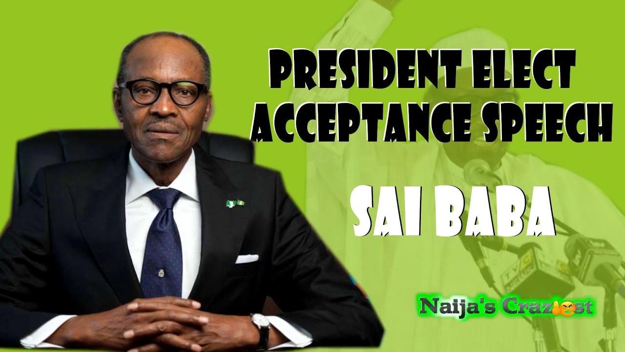 Download Buhari's Inauguration Speech ''I Will Probe Goodluck Jonathan and Obasanjo''