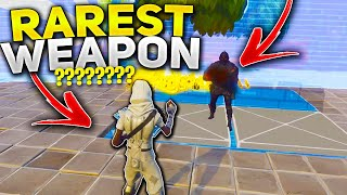 I JUST found the NEW rarest WEAPON EVER! (Scammer Gets Scammed) In Fortnite Save The World